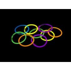 100 braccialetti luminosi
