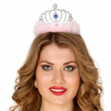 Corona da principessa con piume