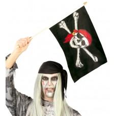 Bandierina dei pirati con bastoncino