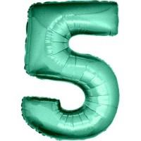 Palloncino numero 5 grande tiffany