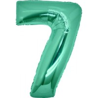Palloncino numero 7 grande tiffany