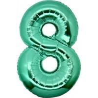 Palloncino numero 8 grande tiffany