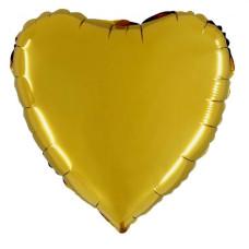 Palloncino forma a cuore medio oro