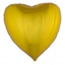 Palloncino forma a cuore grande oro