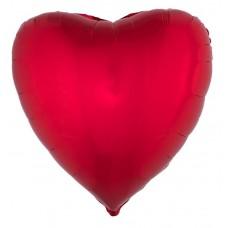Palloncino forma a cuore grande rosso