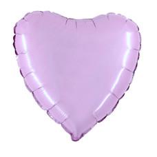 Palloncino forma a cuore piccolo lavanda