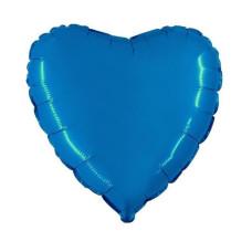 Palloncino forma a cuore piccolo blu