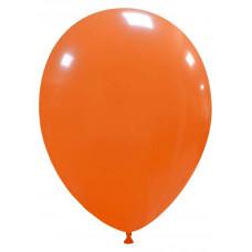 Palloncino forma ovale arancione 20 pezzi