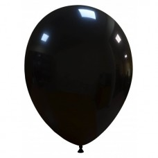 Palloncino forma ovale nero 20 pezzi