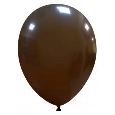 Palloncino forma ovale marrone 20 pezzi