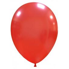 Palloncino forma ovale rosso metallizzato 20 pezzi