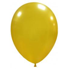 Palloncino forma ovale oro 20 pezzi