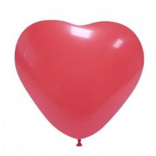 Palloncino forma a cuore rosso 20 pezzi