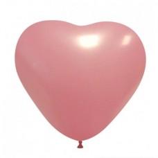 Palloncino forma a cuore rosa chiaro 20 pezzi
