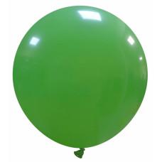 Palloncino forma tonda verde 10 pezzi