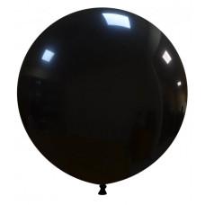 Palloncino forma tonda nero 10 pezzi