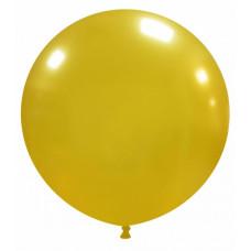 Palloncino forma tonda oro 10 pezzi