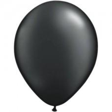 Palloncino forma tonda nero metallizzato 20 pezzi