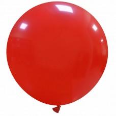 Palloncino forma tonda gigante rosso