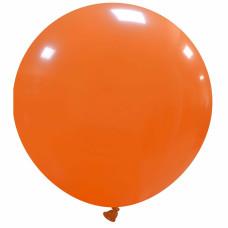 Palloncino forma tonda gigante arancione
