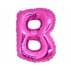 Palloncino lettera B piccola pink