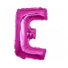 Palloncino lettera E piccola pink