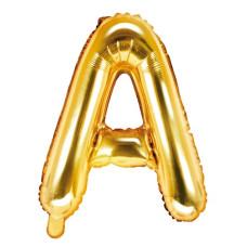 Palloncino lettera A piccola oro