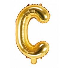 Palloncino lettera C piccola oro