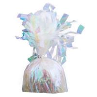 Pesetto per palloncini iridescente