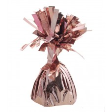 Pesetto per palloncini rose gold