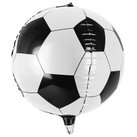 Palloncino forma di palla da calcio a sfera