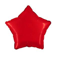 Palloncino forma a stella piccola rossa