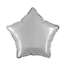 Palloncino forma a stella piccola argento