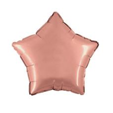 Palloncino forma a stella piccola rose gold