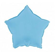 Palloncino forma a stella piccola azzurro