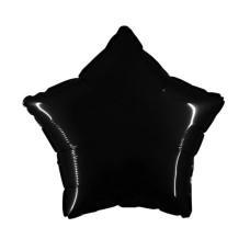 Palloncino forma a stella piccola nero