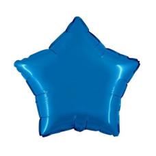Palloncino forma a stella piccola blu