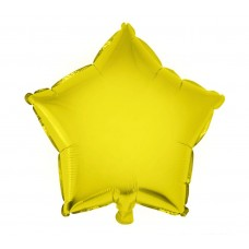 Palloncino forma a stella piccola giallo