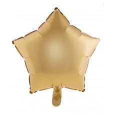 Palloncino forma a stella piccola oro opaco
