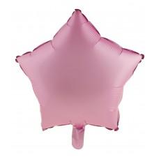 Palloncino forma a stella piccola rosa opaco