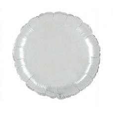 Palloncino forma tonda piccola bianco