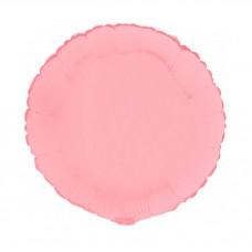 Palloncino forma tonda piccola rosa opaco