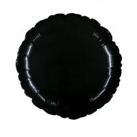 Palloncino forma tonda piccola nero